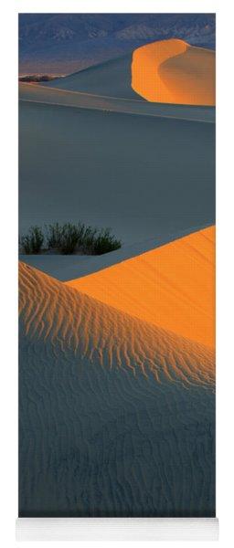 Death Valley Serenade In Light Yoga Mat