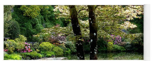 Serene Garden Retreat Yoga Mat