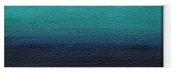 Serenity- Abstract Landscape Yoga Mat