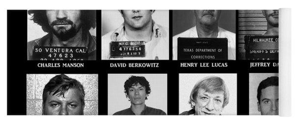Serial Killers - Public Enemies Yoga Mat