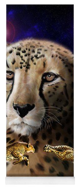 First In The Big Cat Series - Cheetah Yoga Mat