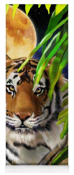 Second In The Big Cat Series - Tiger Yoga Mat