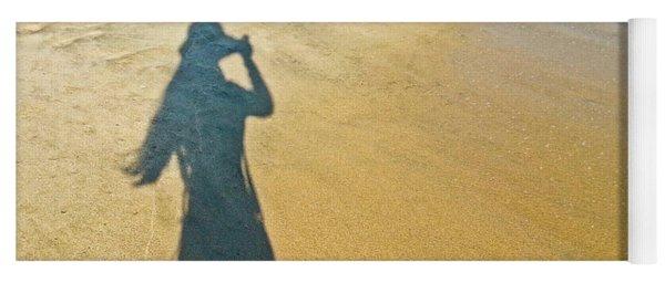 Shadow And Sand Raw Yoga Mat
