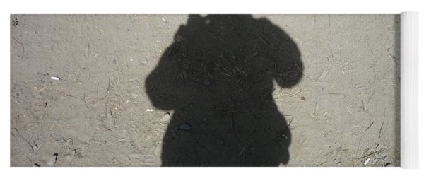 Shadow In Afghanistan  Yoga Mat