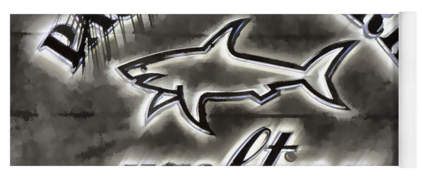 Shark Sign Yoga Mat