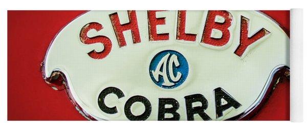 Shelby Ac Cobra Emblem -0282c Yoga Mat