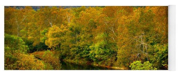 Shenandoah River Yoga Mat