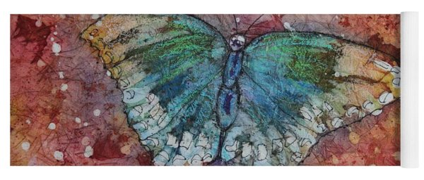 Shimmer Wings Yoga Mat