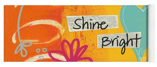 Shine Bright Yoga Mat