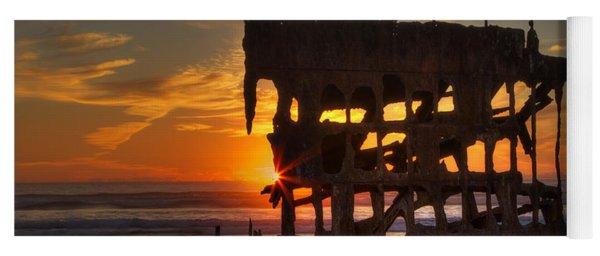 Shipwreck Sunburst Yoga Mat
