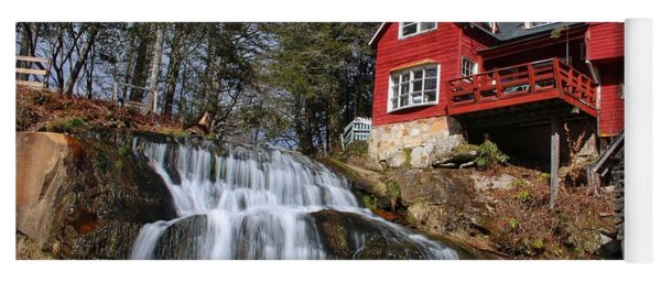 Shoal Creek Falls  Yoga Mat