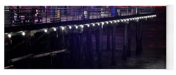 Side Of The Pier - Santa Monica Yoga Mat