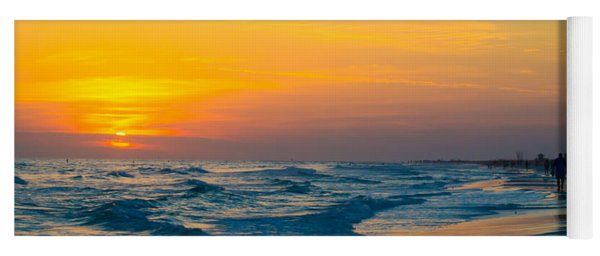 Siesta Key Sunset Walk Yoga Mat