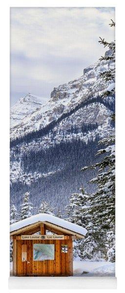 Silent Winter Yoga Mat