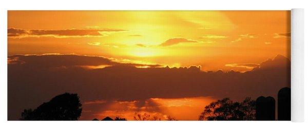 Silo Sunset Yoga Mat