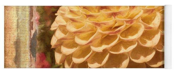 Simply Moments - Flower Art Yoga Mat