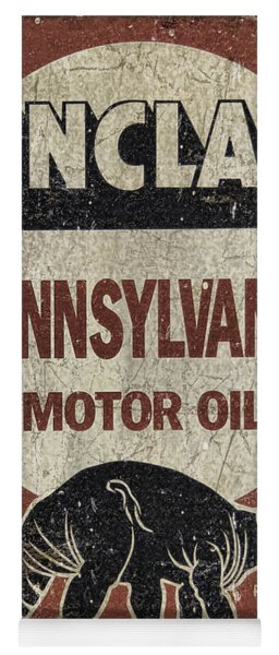 Sinclair Motor Oil Can Yoga Mat