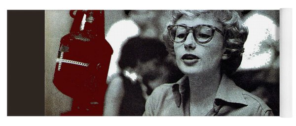 Singer Pianist Blossom Dearie  No Known Date Yoga Mat