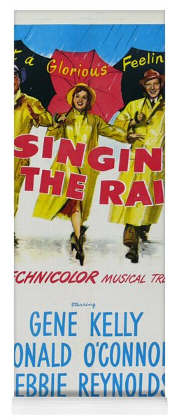 Singin In The Rain Yoga Mat