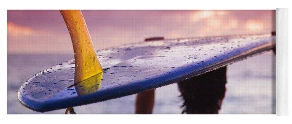 Single Fin Surfer Yoga Mat