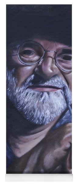 Sir Terry Pratchett Yoga Mat