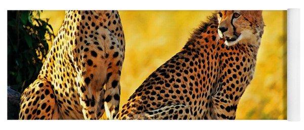 Sister Cheetahs Yoga Mat