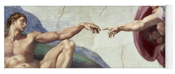 Sistine Chapel Ceiling Yoga Mat