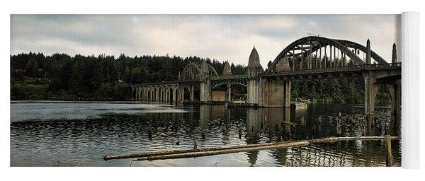 Siuslaw River Bridge Yoga Mat