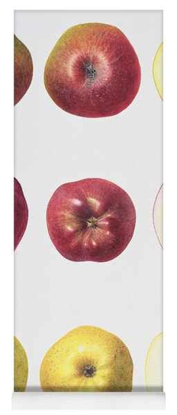 Six Apples Yoga Mat