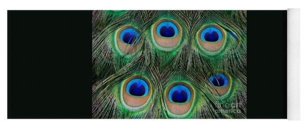 Six Eyes Yoga Mat