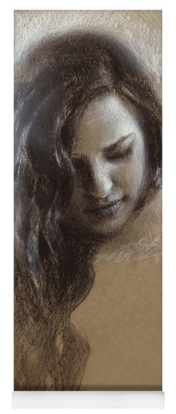 Sketch Of Samantha Yoga Mat