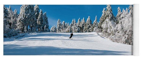 Skiers Paradise Yoga Mat