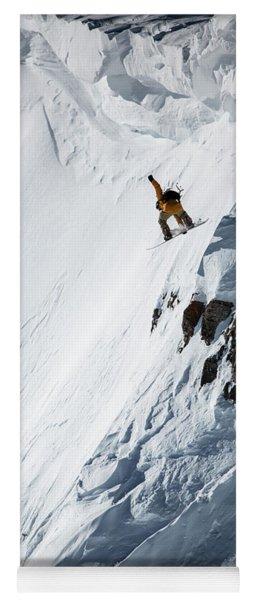 Skiing Yoga Mat