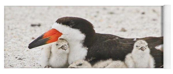 Skimmer Family Cuddle Yoga Mat