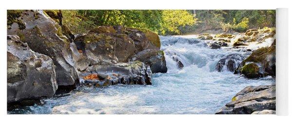 Skutz Falls At Cowichan River Provincial Park Yoga Mat