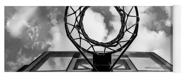 Sky Hoop Basketball Time Yoga Mat