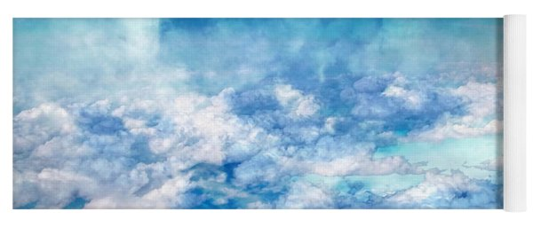 Sky Moods - A View From Above Yoga Mat