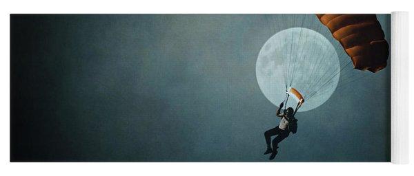 Skydiver's Moon Yoga Mat
