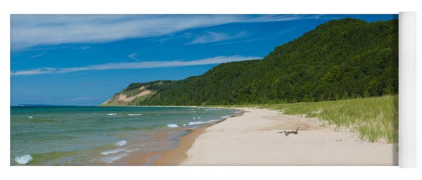 Sleeping Bear Dunes National Lakeshore Yoga Mat