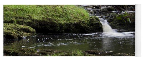 Small Falls On West Beaver Creek Yoga Mat