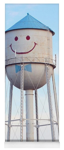 Smiley The Water Tower Yoga Mat