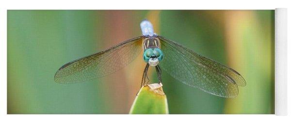 Smiling Dragonfly Yoga Mat