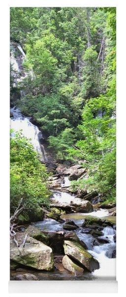 Smith Creek Downstream Of Anna Ruby Falls - 3 Yoga Mat