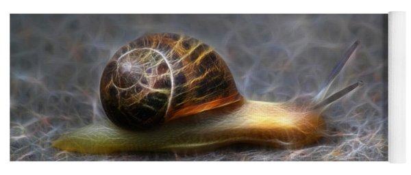 Snail Dreams Yoga Mat