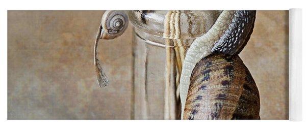 Snails Yoga Mat