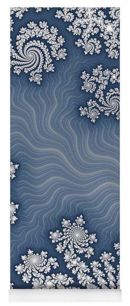 Snow Flurries  Yoga Mat