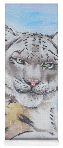 Snow Leopard Yoga Mat
