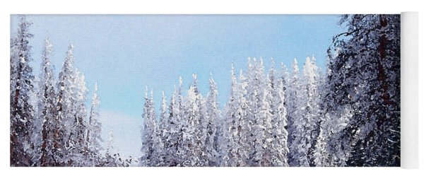 Snowbound Yoga Mat