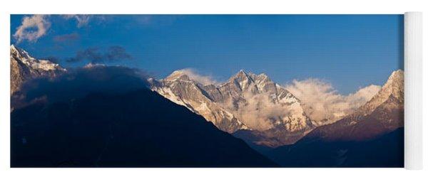 Snowcapped Mountains, Mt Everest, Ama Yoga Mat