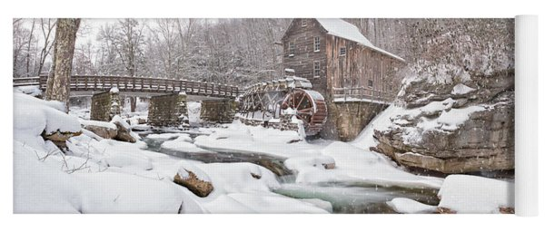 Snowglade Creek Grist Mill 1 Yoga Mat